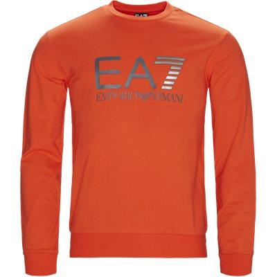 Crew Neck Sweatshirt Regular | Crew Neck Sweatshirt | Orange