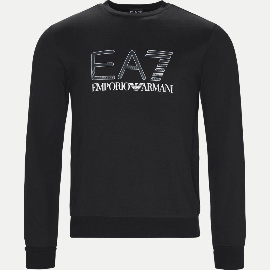 PJ05Z-3GPM14 - Logo Sweatshirt - Sweatshirts - Regular - SORT - 1