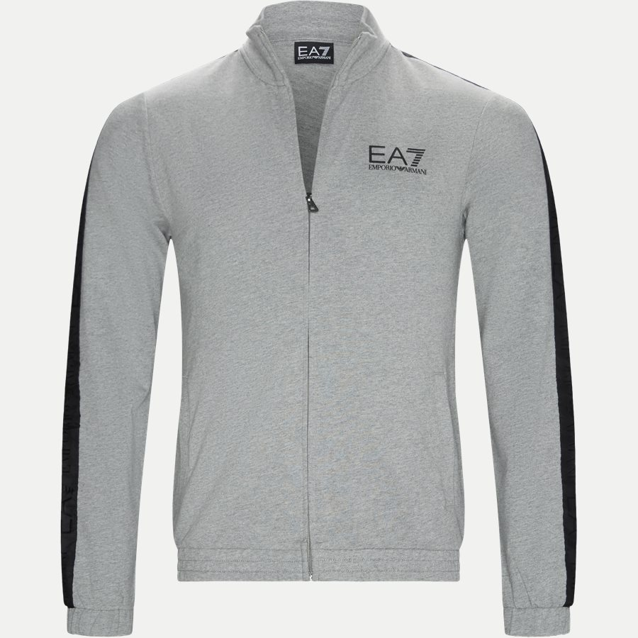 PJ05Z-3GPM21 - Full Zip Sweatshirt - Sweatshirts - Regular - GRÅ - 1