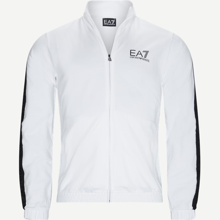 Full Zip Sweatshirt - Sweatshirts - Regular - Hvid