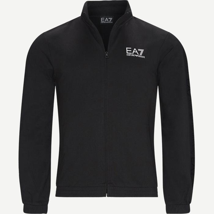 Full Zip Sweatshirt - Sweatshirts - Regular - Sort