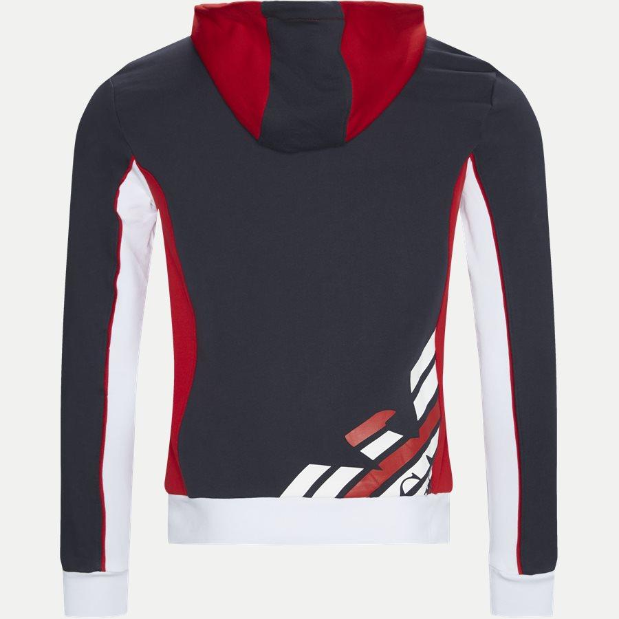 PJ11Z-3GPM85 - Full Zip Sweatshirt Med Hætte - Sweatshirts - Regular - NAVY - 2