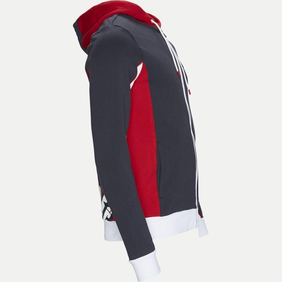 PJ11Z-3GPM85 - Full Zip Sweatshirt Med Hætte - Sweatshirts - Regular - NAVY - 4