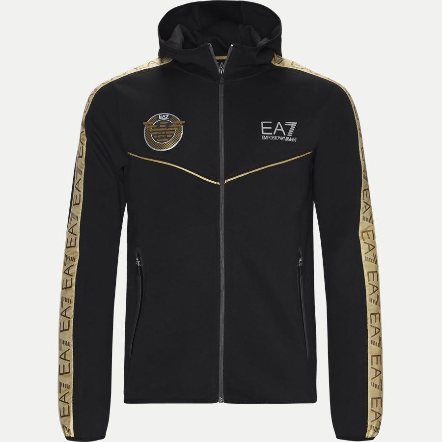 PJT6Z-3GPM38 - Sweatshirt Med Hætte - Sweatshirts - Regular - SORT - 1