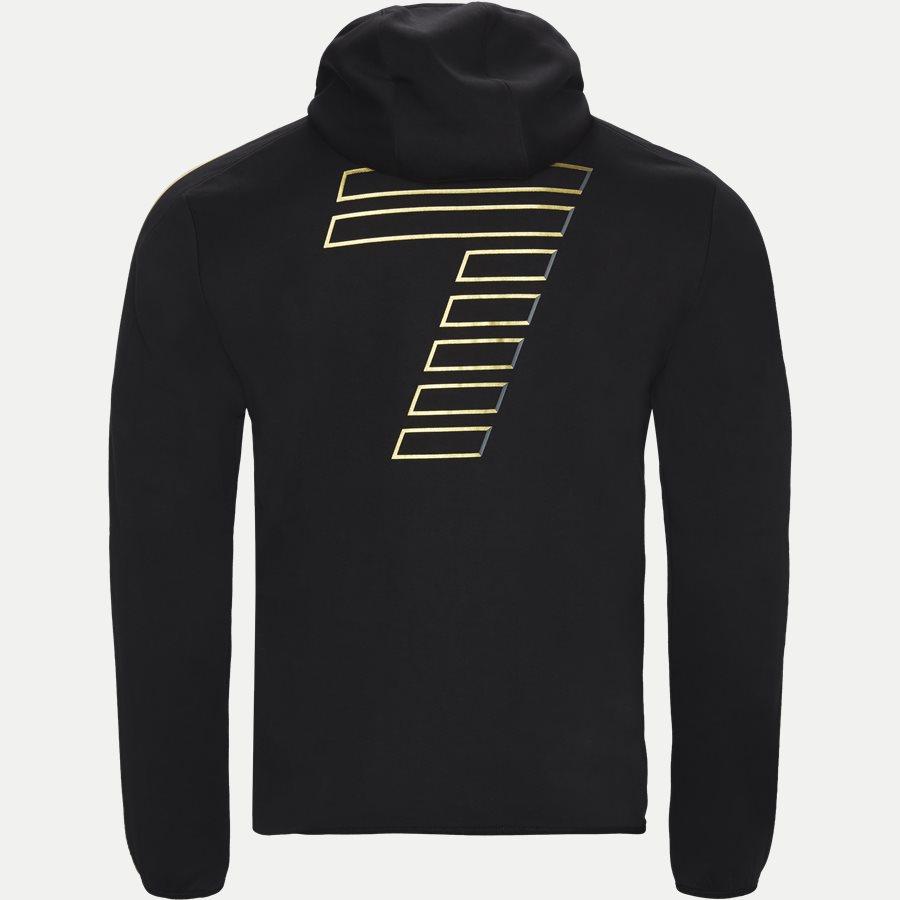 PJT6Z-3GPM38 - Sweatshirt Med Hætte - Sweatshirts - Regular - SORT - 2