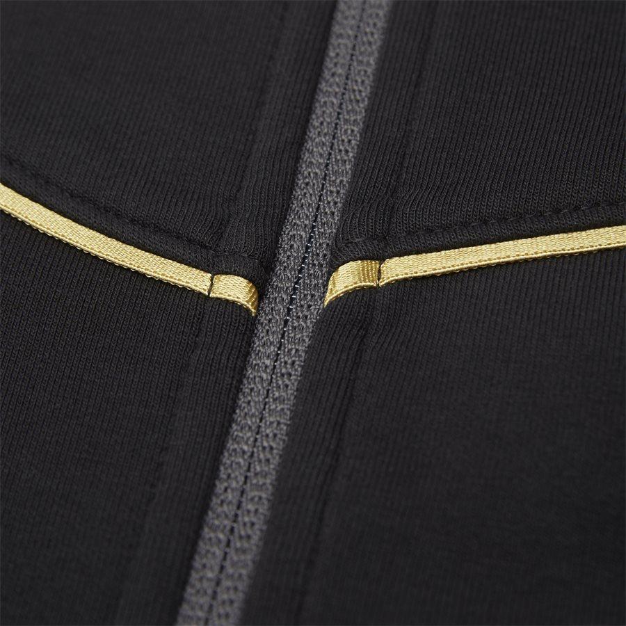 PJT6Z-3GPM38 - Sweatshirt Med Hætte - Sweatshirts - Regular - SORT - 8