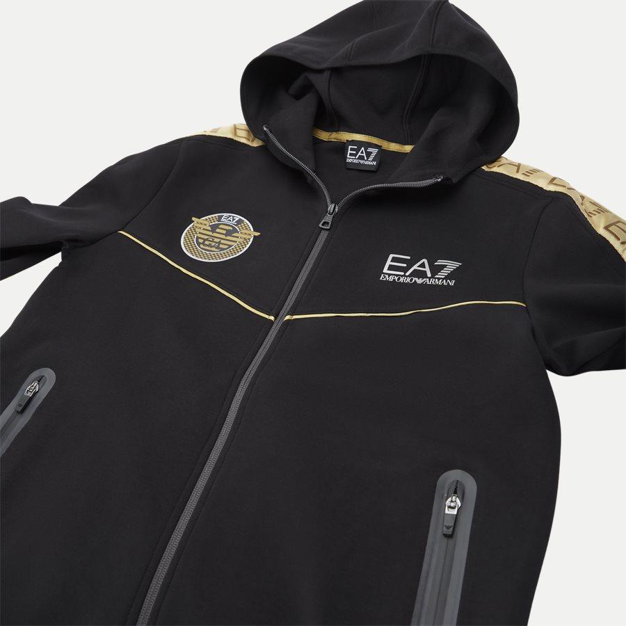 PJT6Z-3GPM38 - Sweatshirt Med Hætte - Sweatshirts - Regular - SORT - 10