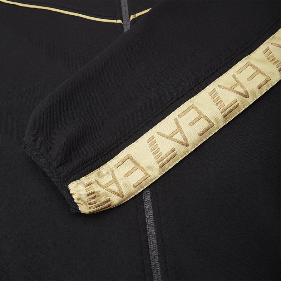 PJT6Z-3GPM38 - Sweatshirt Med Hætte - Sweatshirts - Regular - SORT - 11