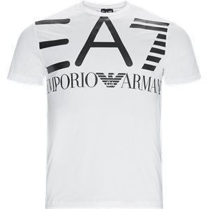 Logo T-shirt Regular   Logo T-shirt   Hvid