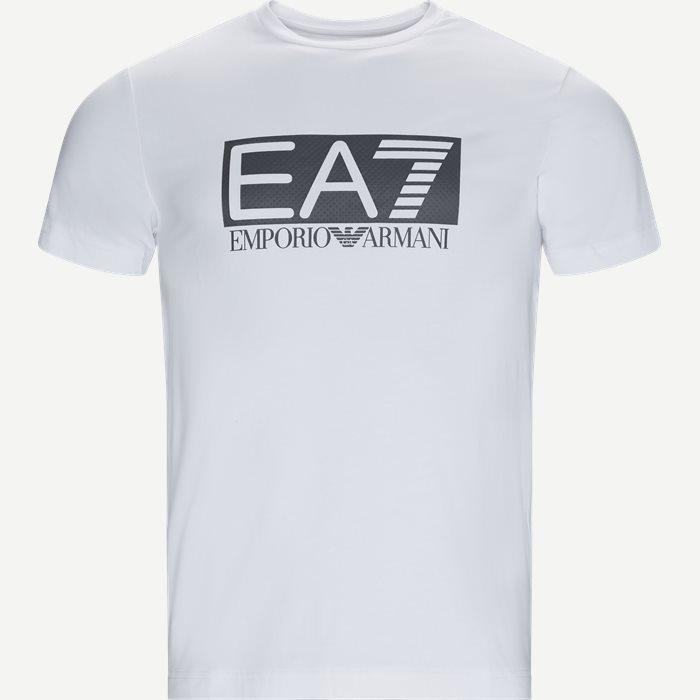 Logo T-shirt - T-shirts - Regular - Hvid