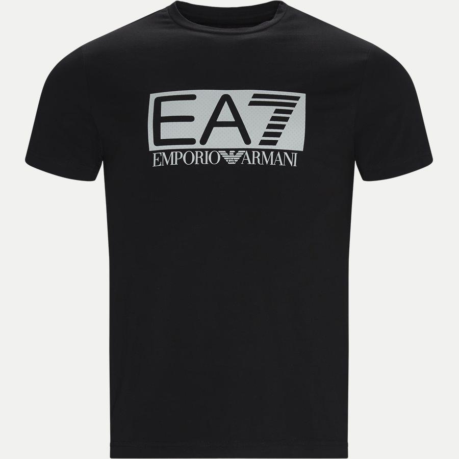 PJ03Z-3GPT62 - Logo T-shirt - T-shirts - Regular - SORT - 1