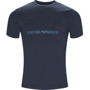 Logo T-shirt Regular   Logo T-shirt   Blå