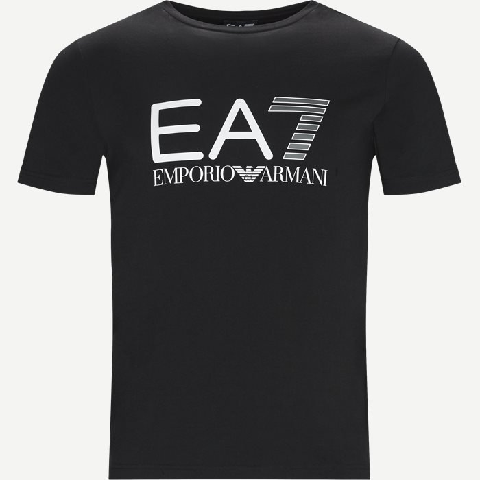 Logo T-shirt - T-shirts - Regular - Sort
