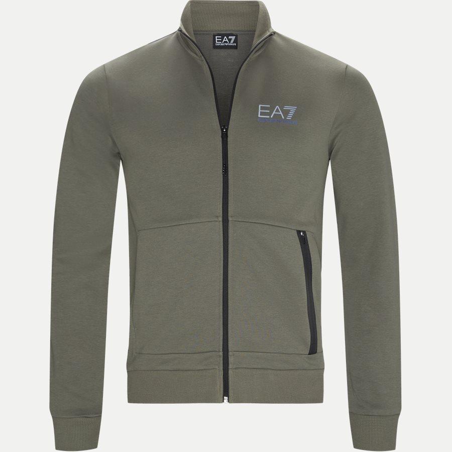 PJJ5Z-3GPV63 VR. 43 - Full Zip Sweatshirt - Sweatshirts - Regular - OLIVEN - 1