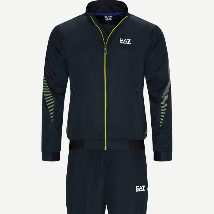 Tracksuit - Sweatshirts - Regular - Blå