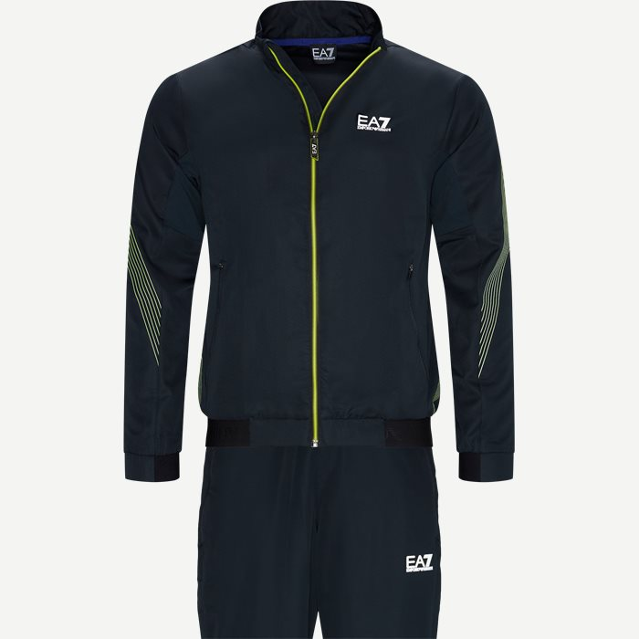 Track Suit - Sweatshirts - Regular - Blå
