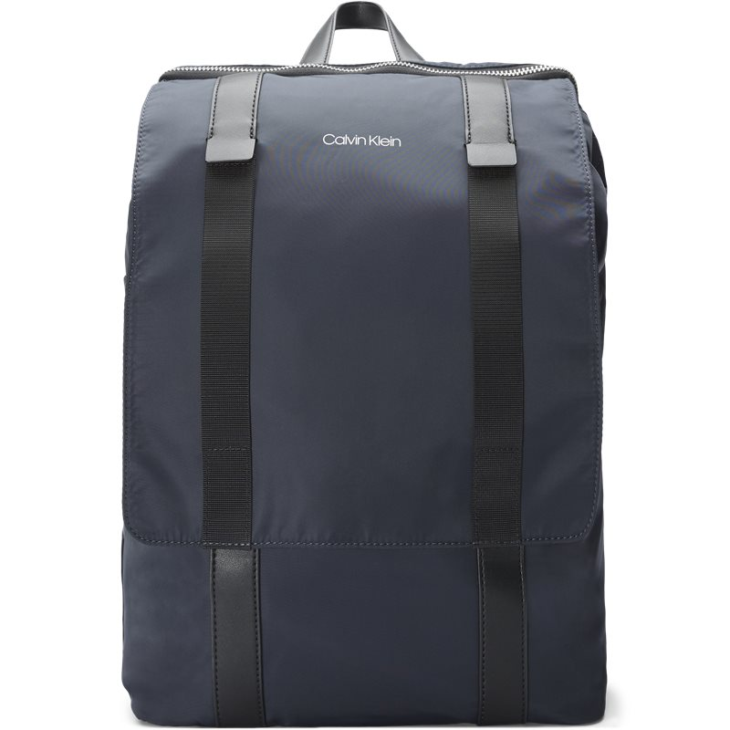 calvin klein Calvin klein k50k50422068 braced backpack tasker navy fra axel.dk