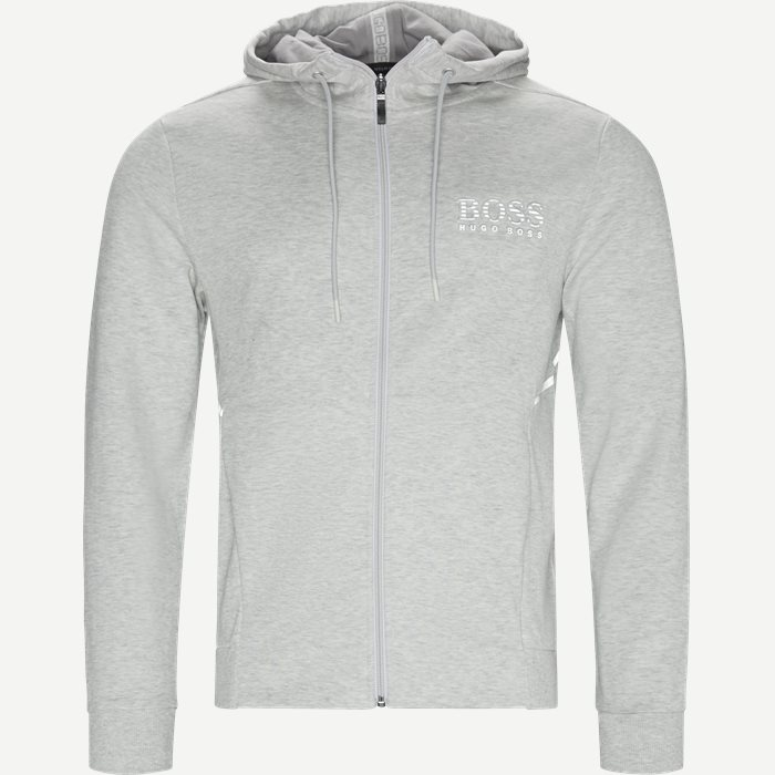Saggy Hoodie - Sweatshirts - Regular - Grå