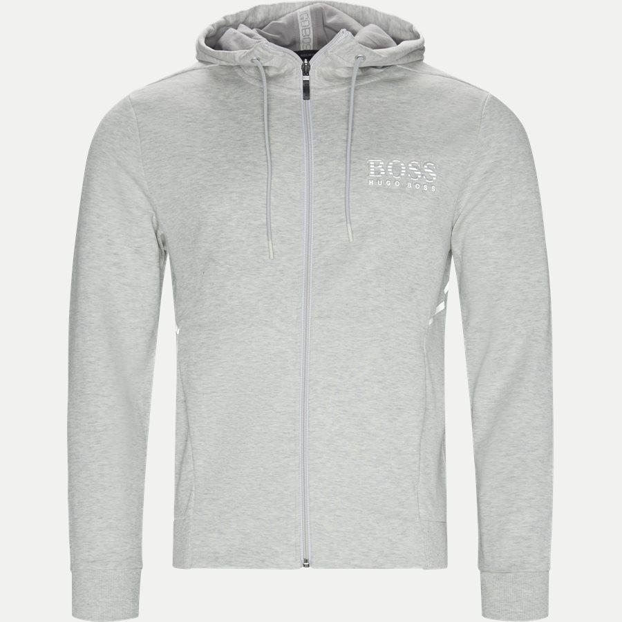 50399379 SAGGY - Saggy Hoodie - Sweatshirts - Regular - GRÅ - 1
