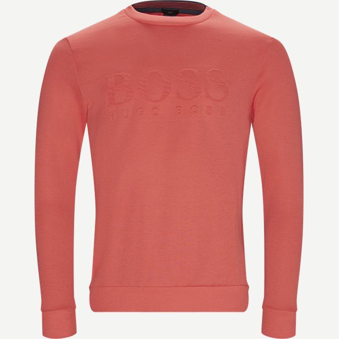 Salbo Sweatshirt - Sweatshirts - Slim - Rød