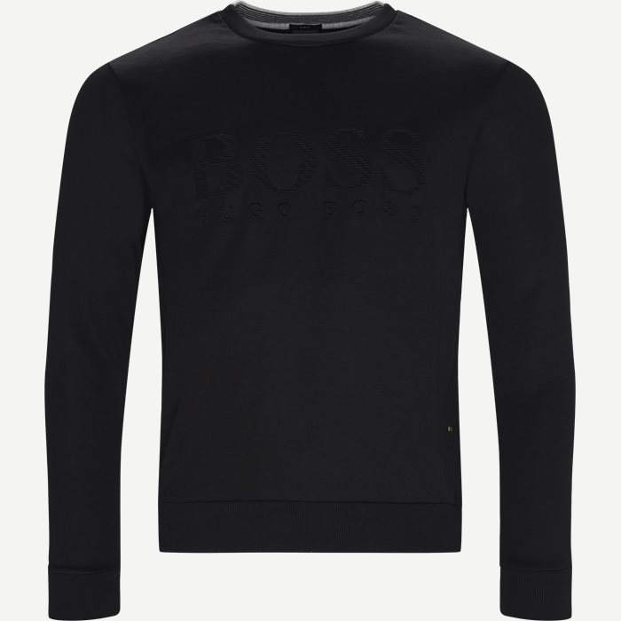 Sweatshirts - Slim - Black