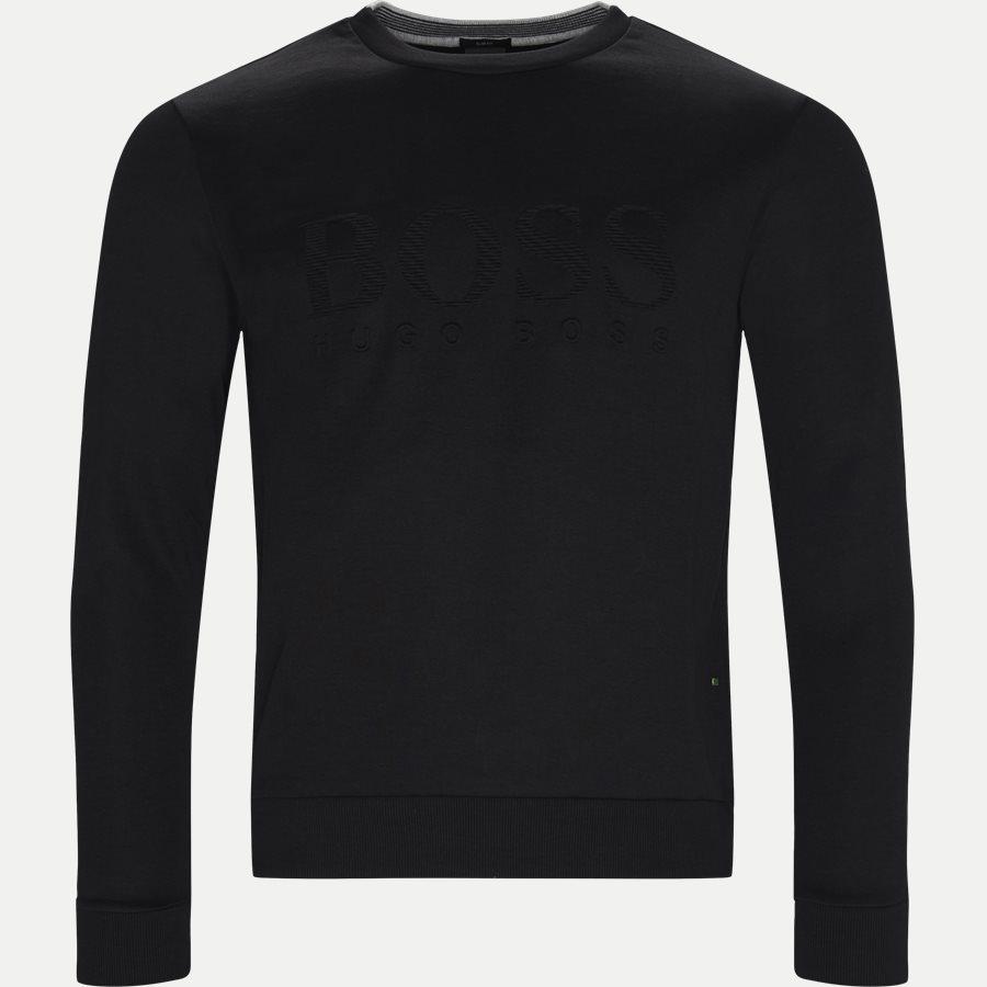 50399391 SALBO - Salbo Sweatshirt - Sweatshirts - Slim - SORT - 1