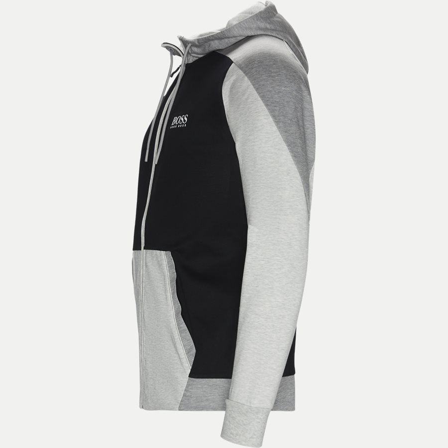 50403544 SLH-TECH - SLH-Tech Hoodie - Sweatshirts - Slim - GRÅ - 3