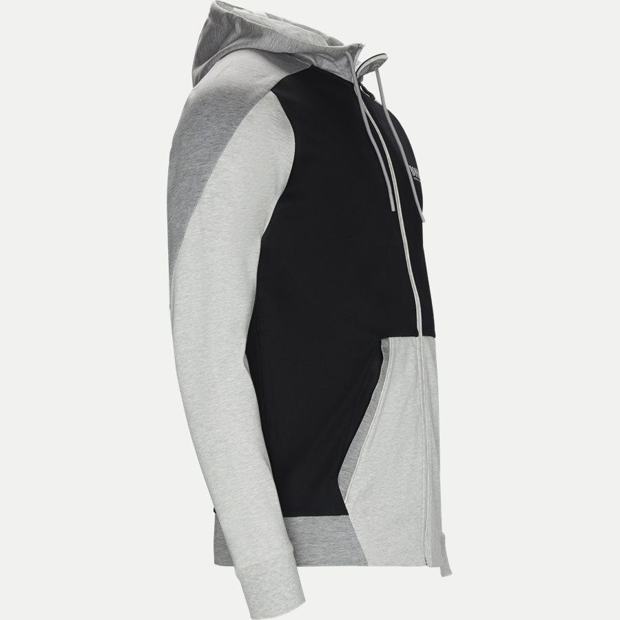 50403544 SLH-TECH - SLH-Tech Hoodie - Sweatshirts - Slim - GRÅ - 4