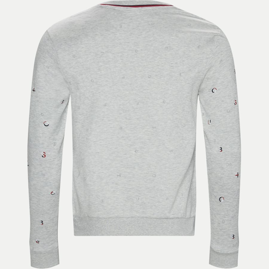 50403980 SALBO ICONIC - Salbo Iconic Crew Sweatshirt - Sweatshirts - Slim - GRÅ - 2