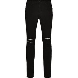 Max Black Holes Jeans Skinny fit | Max Black Holes Jeans | Sort