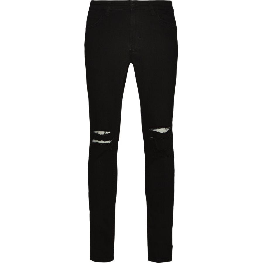 MAX BLK. HOLES - Max Black Holes Jeans - Jeans - Skinny fit - SORT - 1