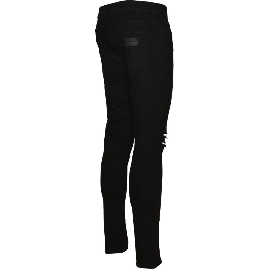 MAX BLK. HOLES - Max Black Holes Jeans - Jeans - Skinny fit - SORT - 3