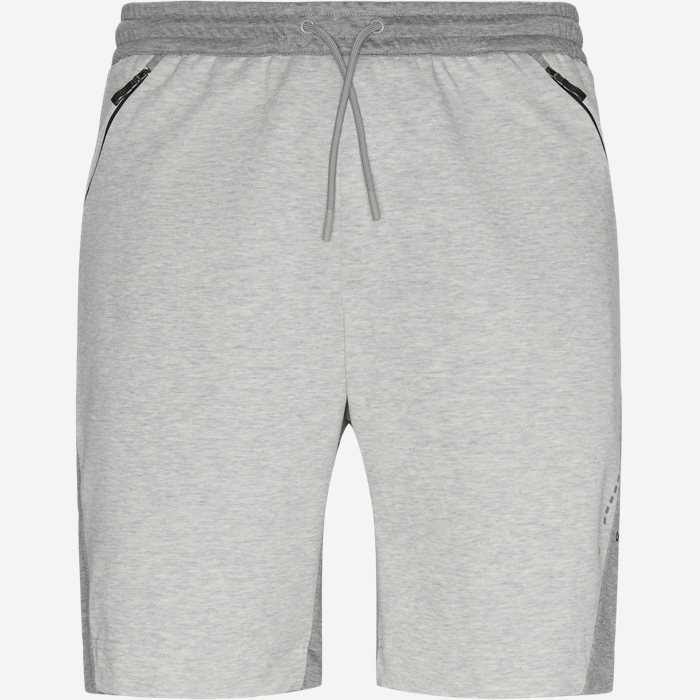 Shorts - Slim - Grau