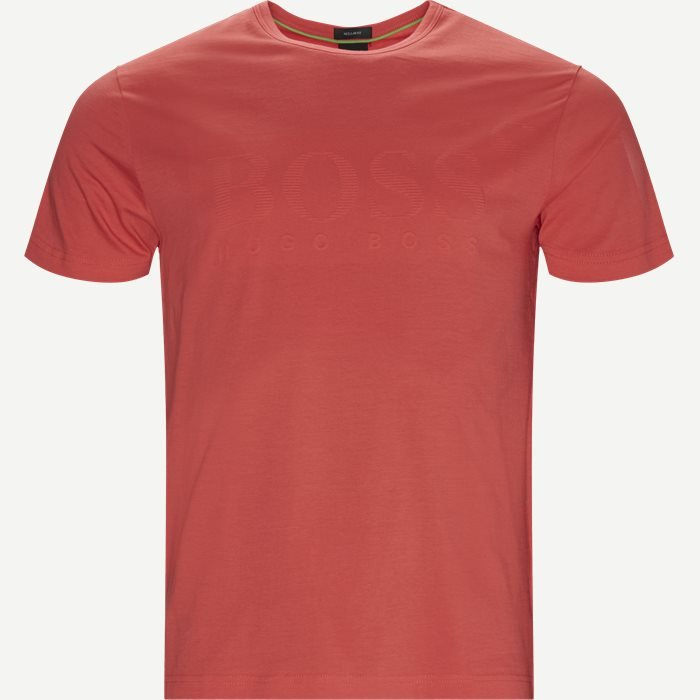 T-shirts - Regular - Red