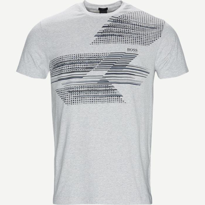 Teep1 T-shirt - T-shirts - Slim - Grå