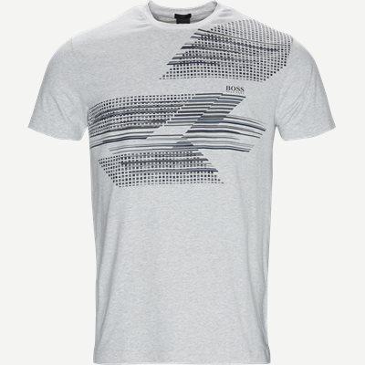Teep1 T-shirt Slim | Teep1 T-shirt | Grå