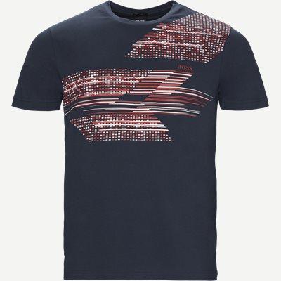 Teep1 T-shirt Slim | Teep1 T-shirt | Blå