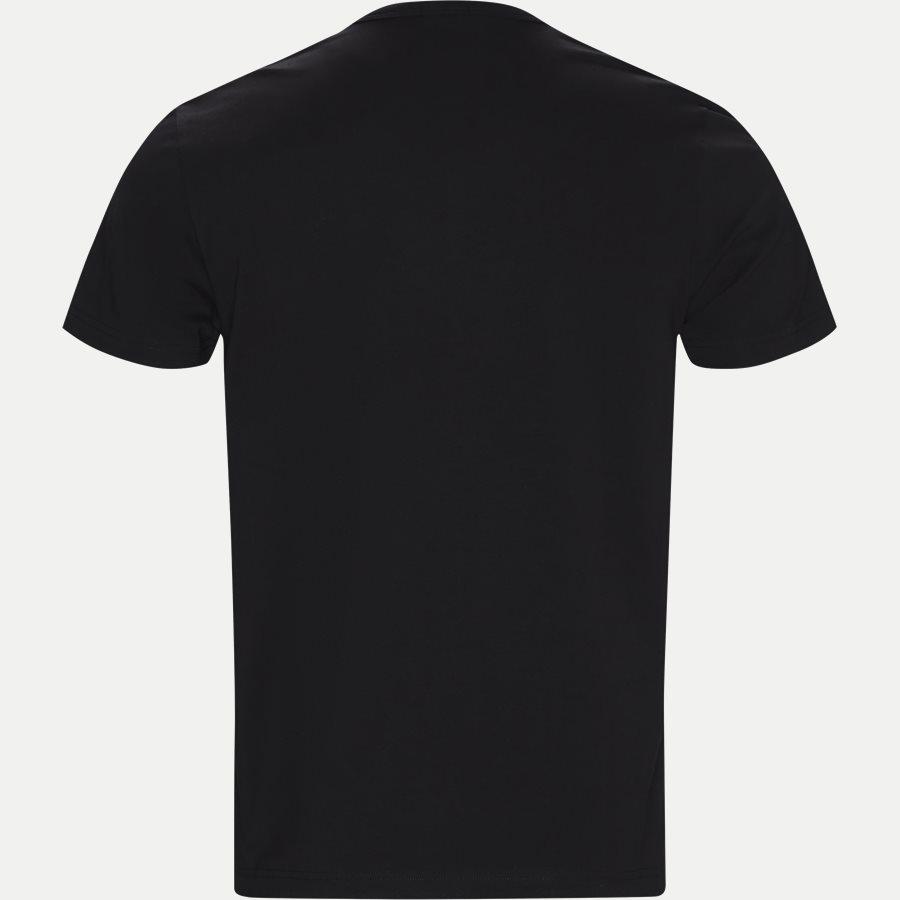 50404390 TEE LOGO - Tee Logo T-shirt - T-shirts - Regular - SORT - 2