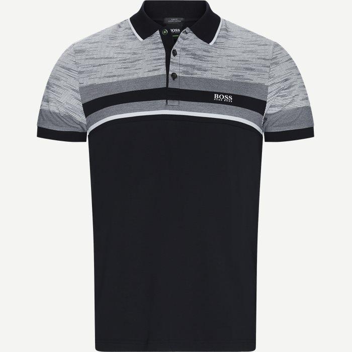 T-shirts - Slim - Svart