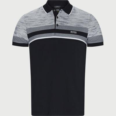 Paule5 Polo T-shirt Slim | Paule5 Polo T-shirt | Sort