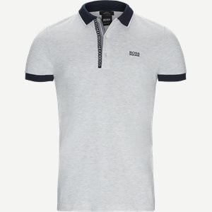 Paule4 Polo T-shirt Slim | Paule4 Polo T-shirt | Grå