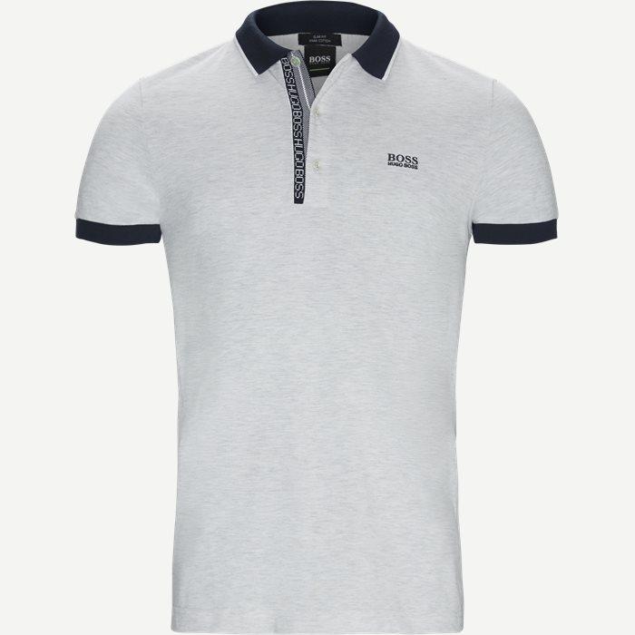 T-Shirts - Slim - Grau