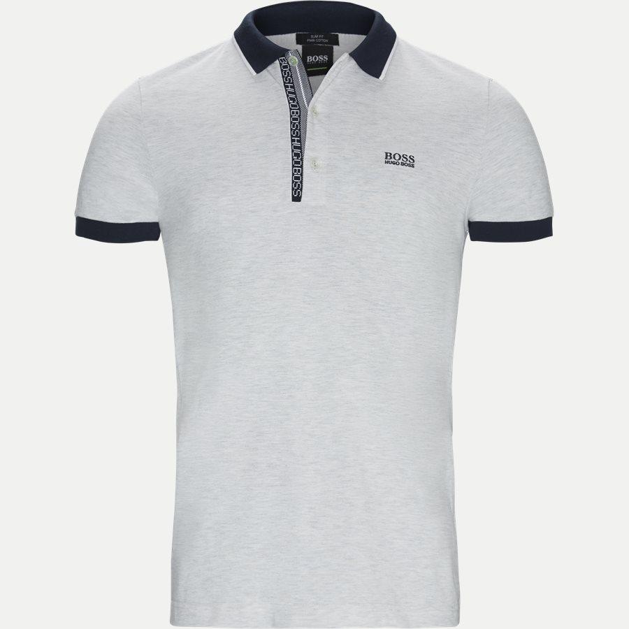 50399185 PAULE 4. - Paule4 Polo T-shirt - T-shirts - Slim - GRÅ - 1