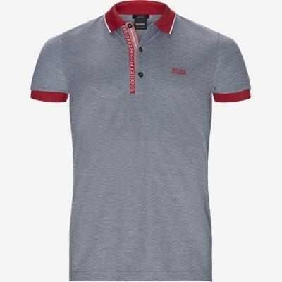 Paule4 Polo T-shirt Slim | Paule4 Polo T-shirt | Blå