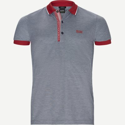 Paule4 Polo T-shirt Slim | Paule4 Polo T-shirt | Blå