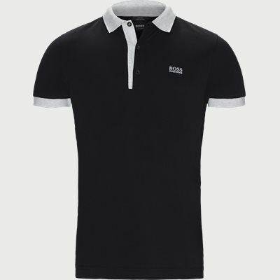 Paule4 Polo T-shirt Slim | Paule4 Polo T-shirt | Sort