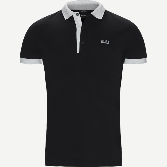 Paule4 Polo T-shirt - T-shirts - Slim - Sort