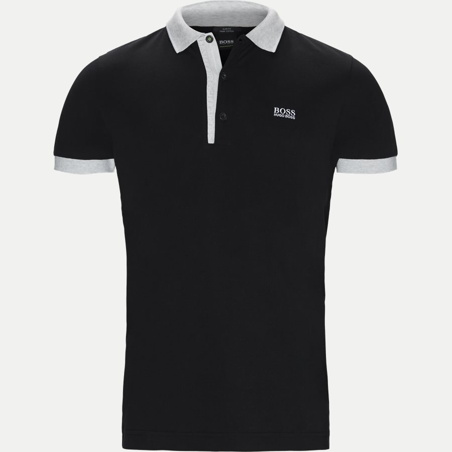 50399185 PAULE 4. - Paule4 Polo T-shirt - T-shirts - Slim - SORT - 1