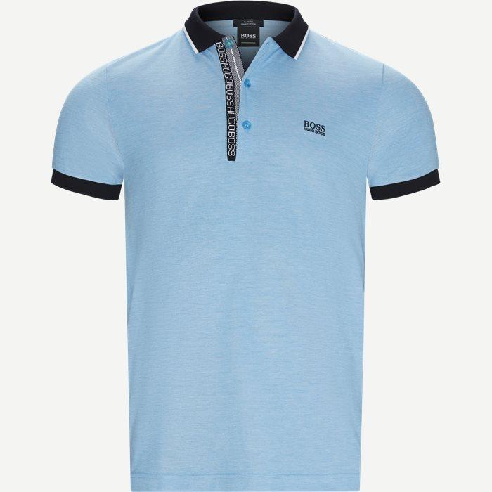 Paule4 Polo T-shirt - T-shirts - Slim - Turkis