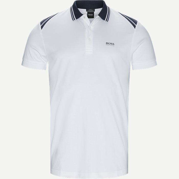 Paule1 Polo T-shirt - T-shirts - Slim - Hvid